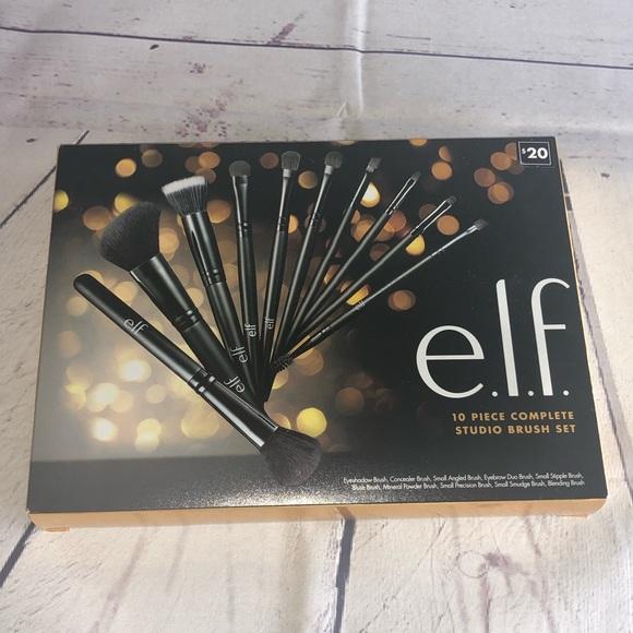 ELF Other - Elf 10 Piece Complete Studio Brush Set
